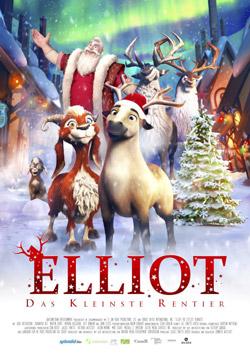 Filmposter: Elliot - Das kleinste Rentier - Quelle: filmposter-archiv.de, Größe 250x355