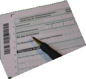 Symbolbild Steuerformular